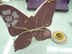 Butterfly embellish